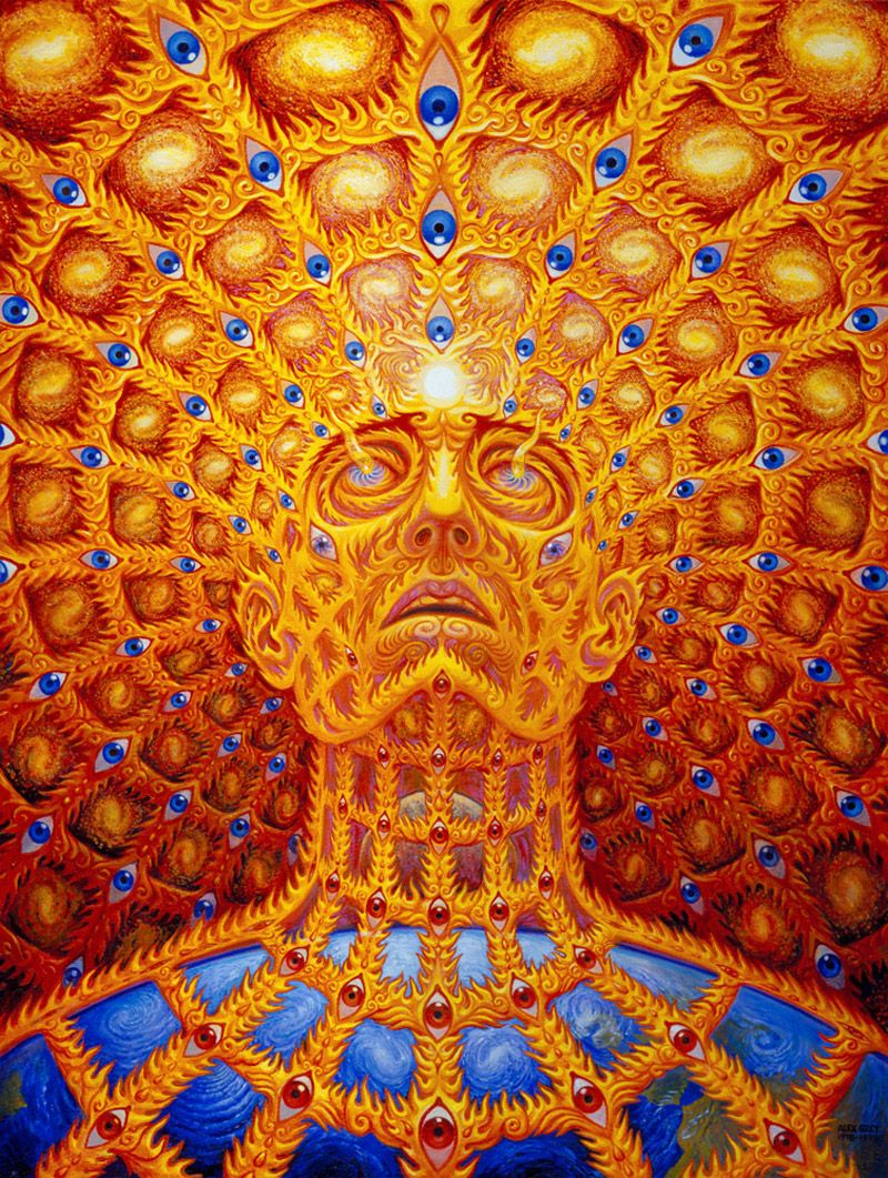 Oversoul By Alex Grey Gelaskins Images That Inspire Me Arte