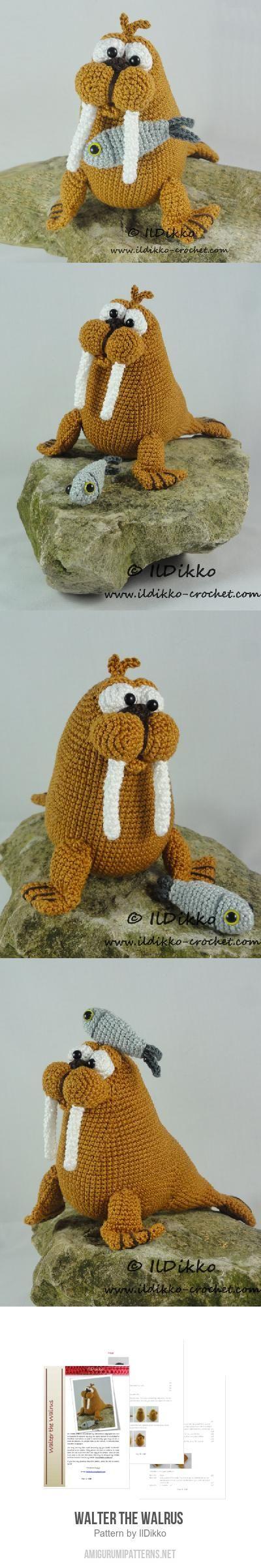 Walter The Walrus Crochet