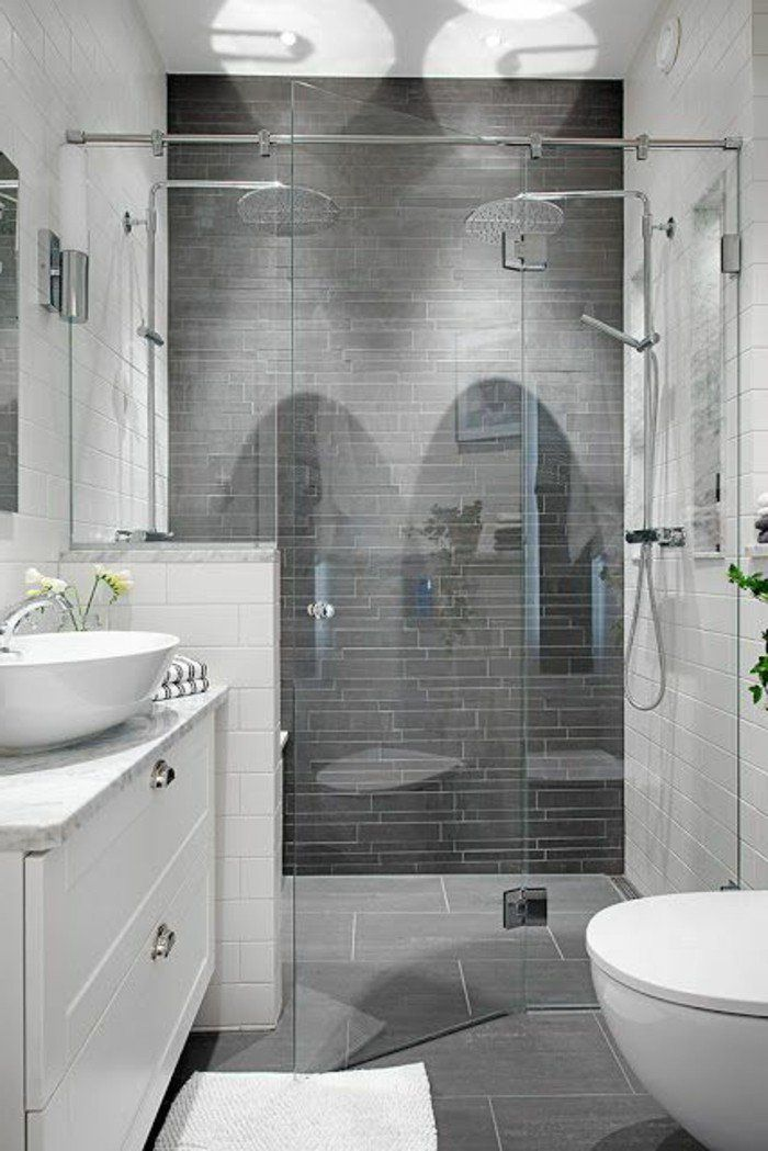 La Salle De Bain Avec Douche Italienne  Photos  Decoration And House