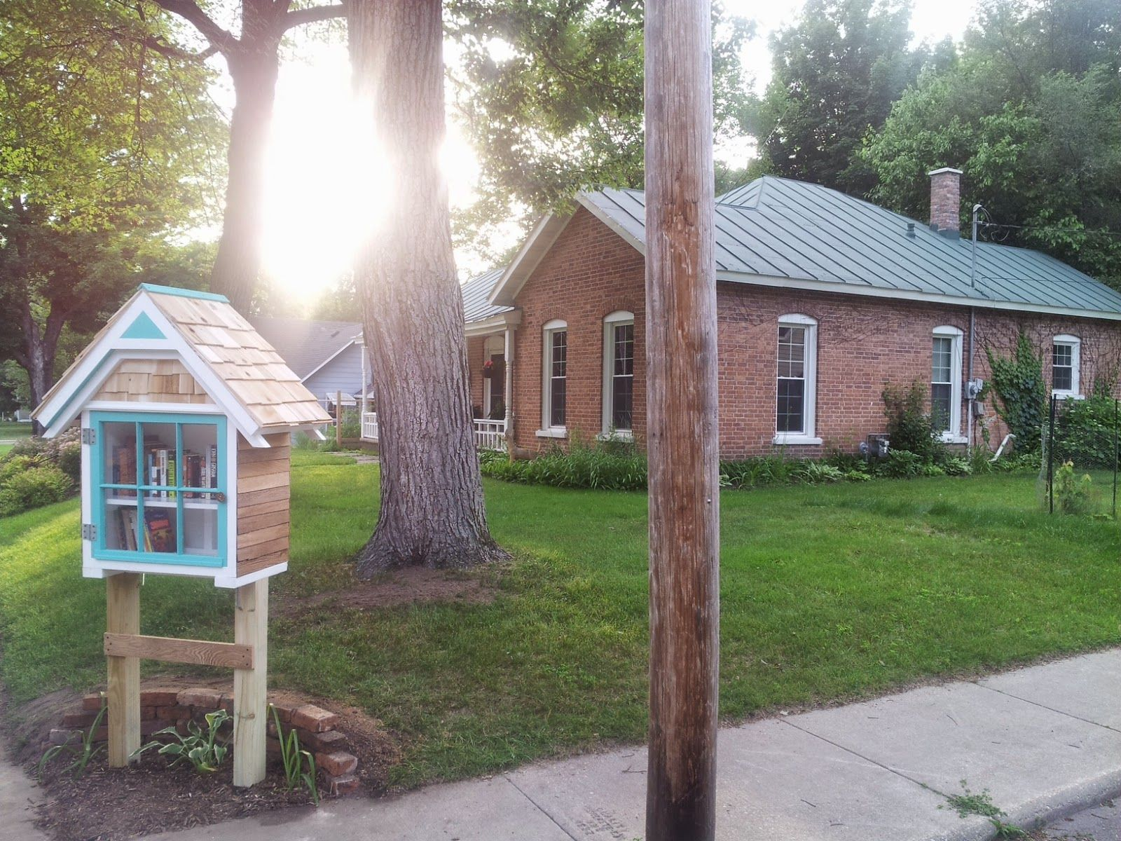 My Summer Project Artistic Freedom Little Free Libraries Summer Projects Waupaca
