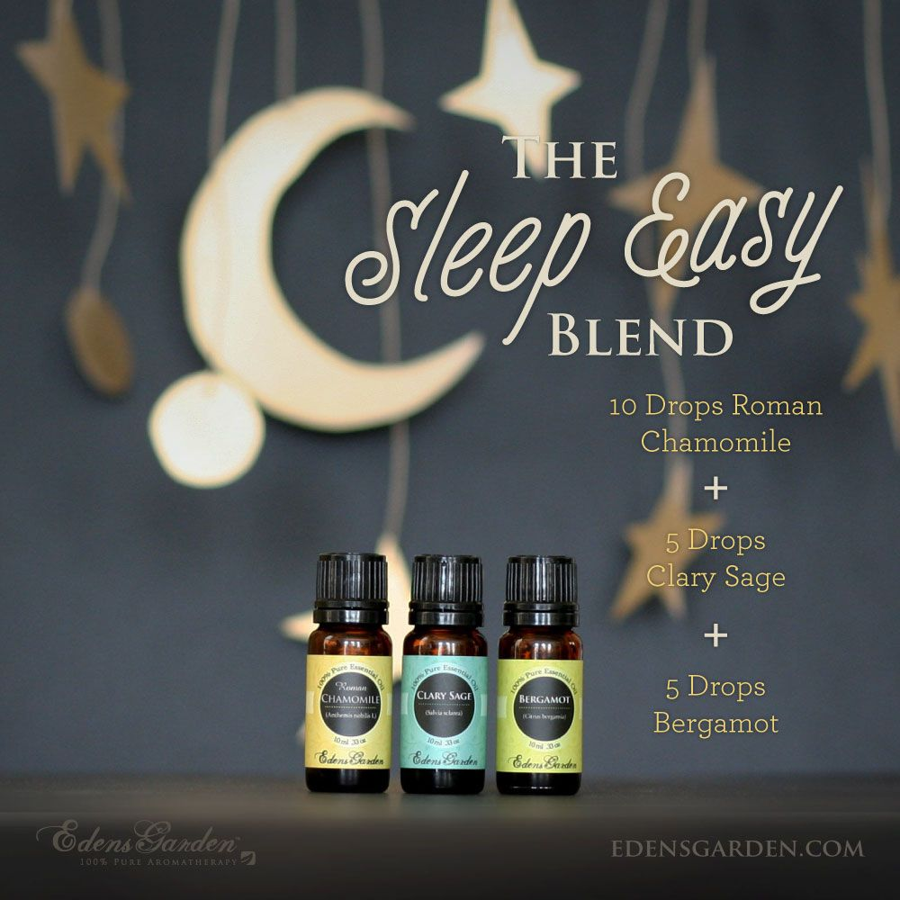 Sleep Ease Essential Oil Blend Edens Garden Essential Oils Essential Oil Blends Essential Oils For Sleep