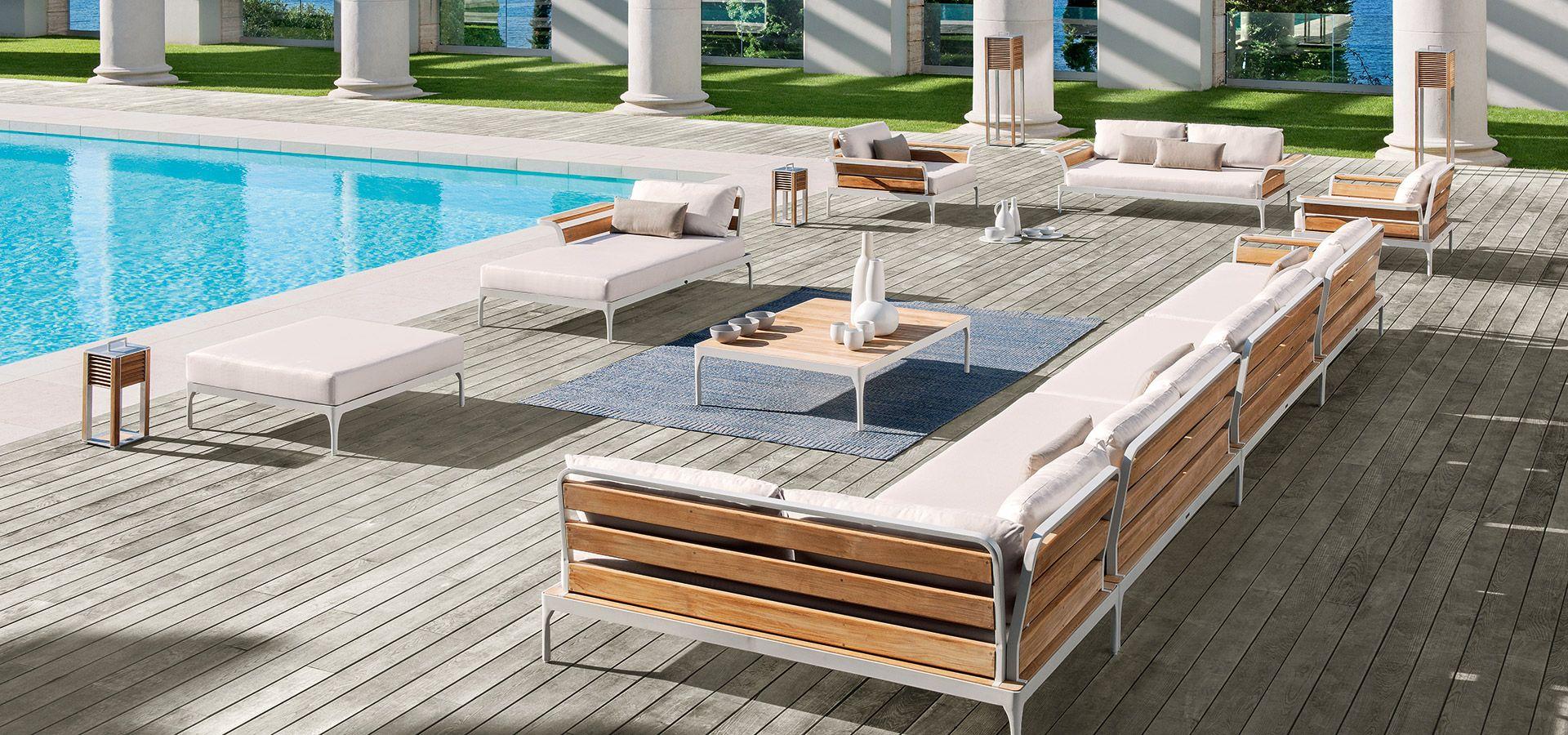 Meridien  Ethimo  Garden furniture wood