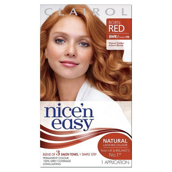 Nice N Easy Hair Color Auburn