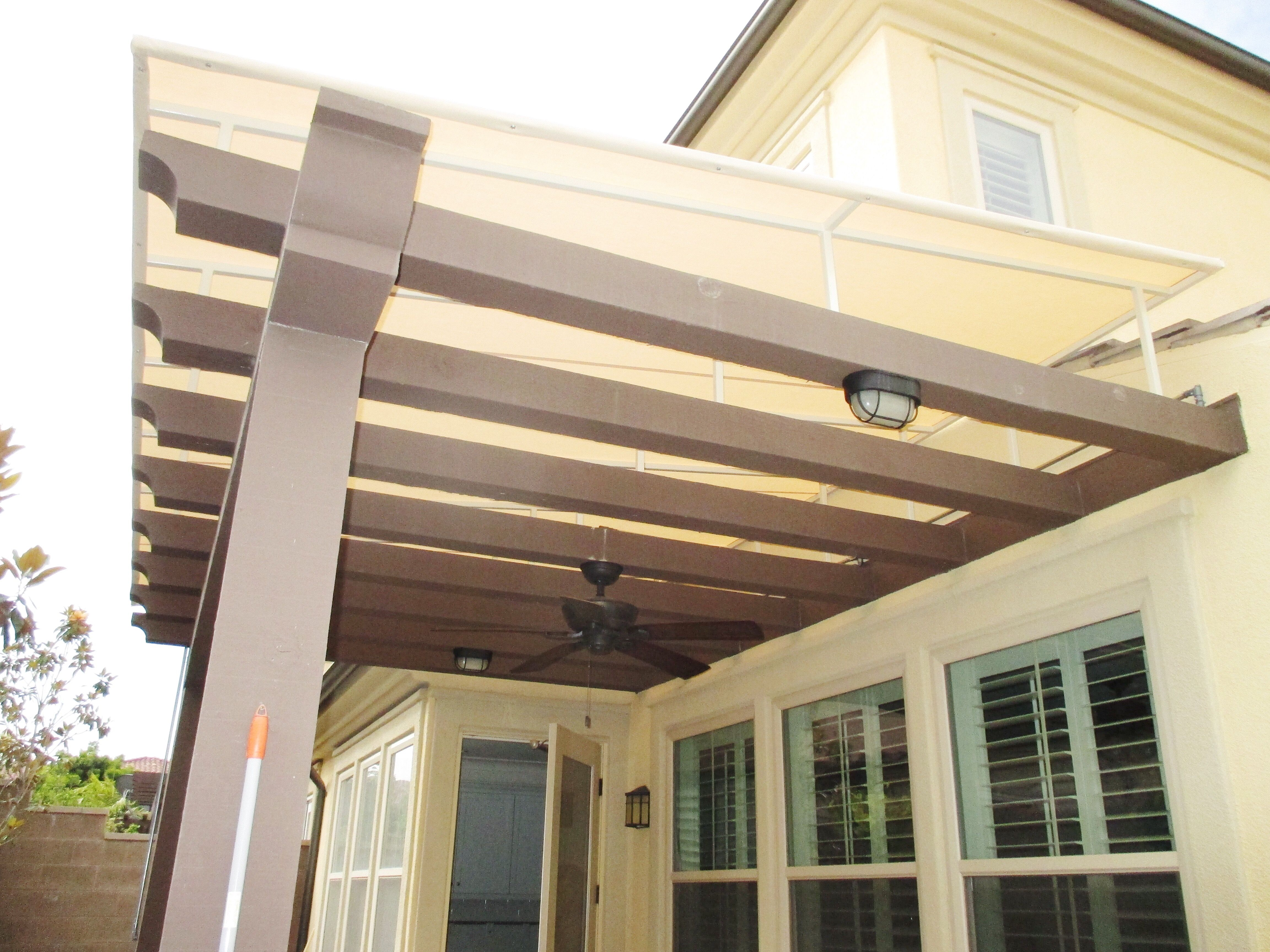 enlarge awning image jpg carports to vee cover click twin steel patio metal awnings