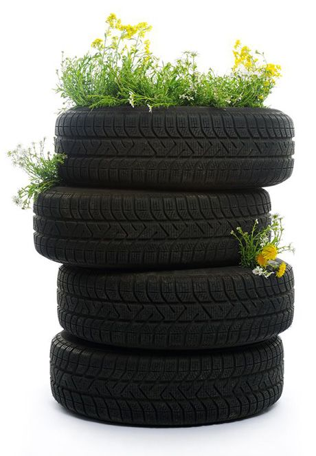 Tire Garden Planters Diy Ideas