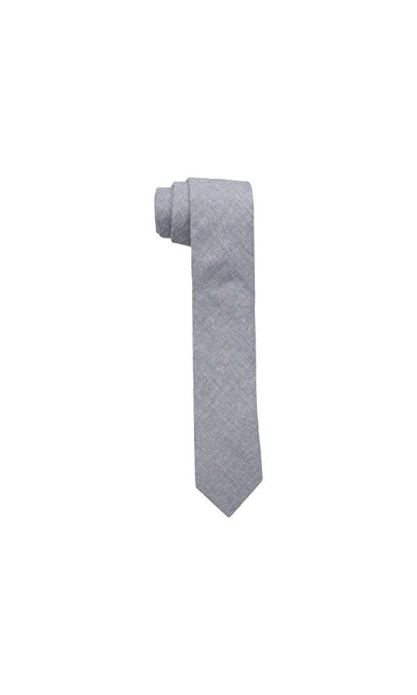 0$ - Original Penguin Men s Coco Chambray Solid Tie- Navy- One Size from Original Penguin- 2.25 inch width