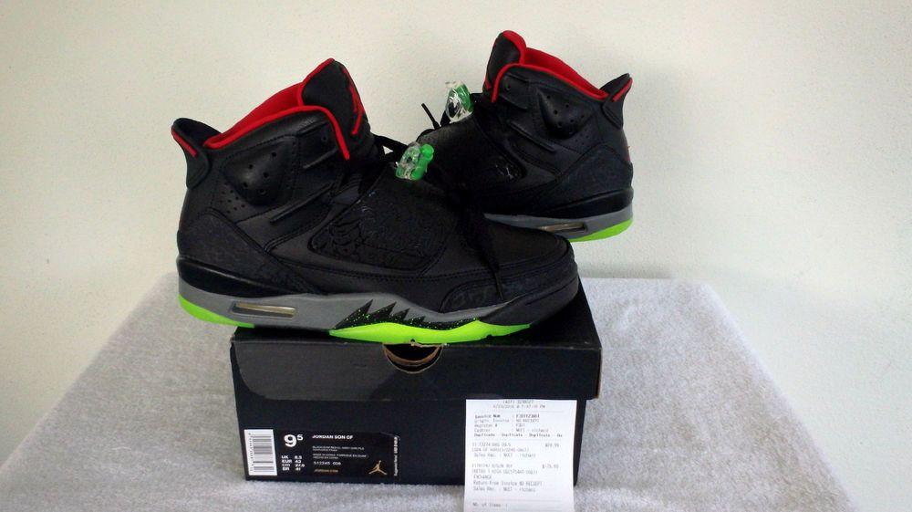 premium selection d9d35 1b886 Nike Air Jordan Son Of Mars Yeezy Mens Black Gym Red Cool Grey 512245-006 SZ  9.5  Nike  BasketballShoes