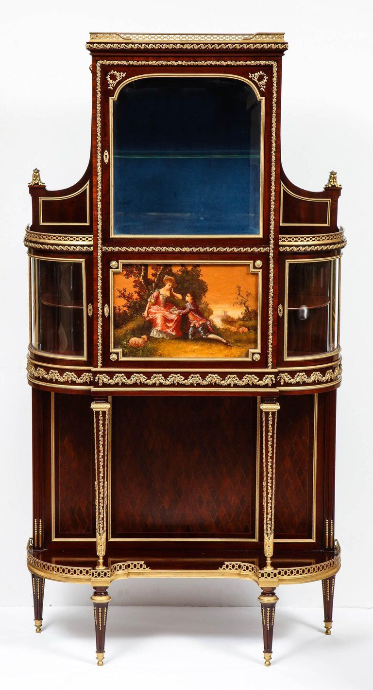 Best Francois Linke Rare And Important Pair Of French Ormolu 640 x 480