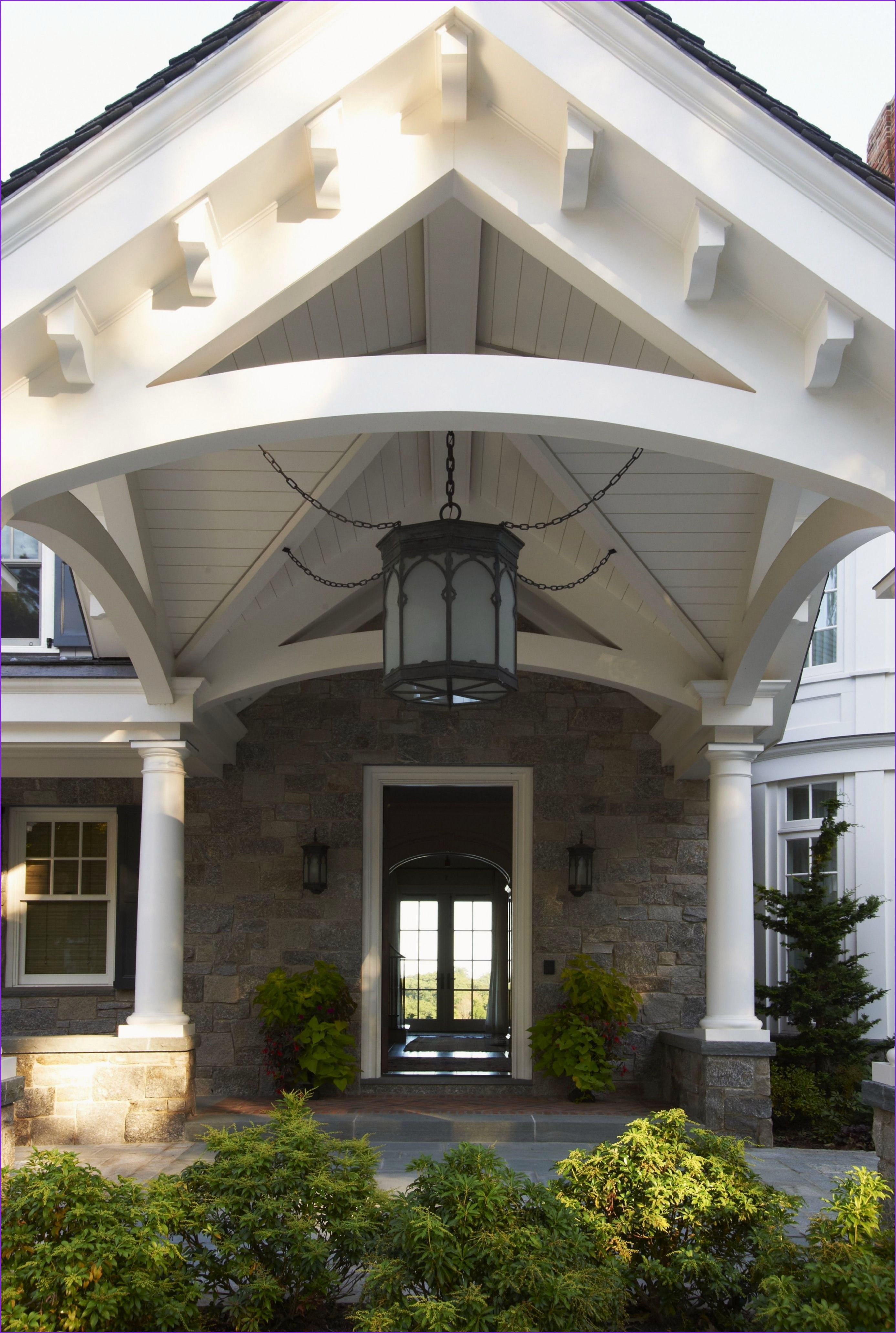 Awesome Carport In Front Of House In 2020 House Front House Exterior Portico Entry