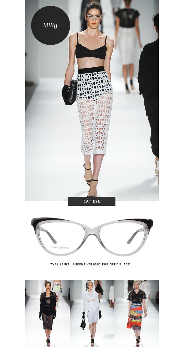51d8e0be3840 Top 6 Glasses Trends  New York Fashion Week