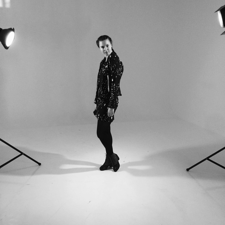 Bts In Studio With Georgina Warner Showcasing A Winter 2016 Clothes Fashion Georgina