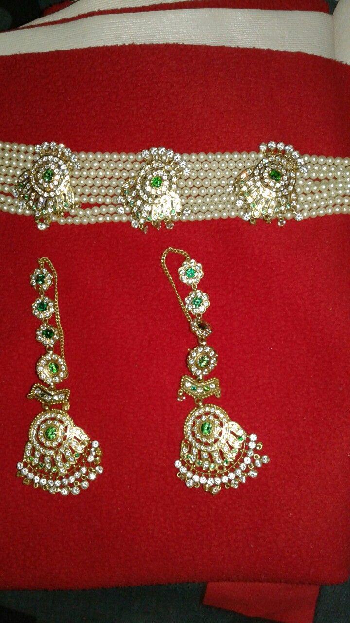 Rajputi jewellery chik by kuldeep singh | Royal rajputi jewellery ...