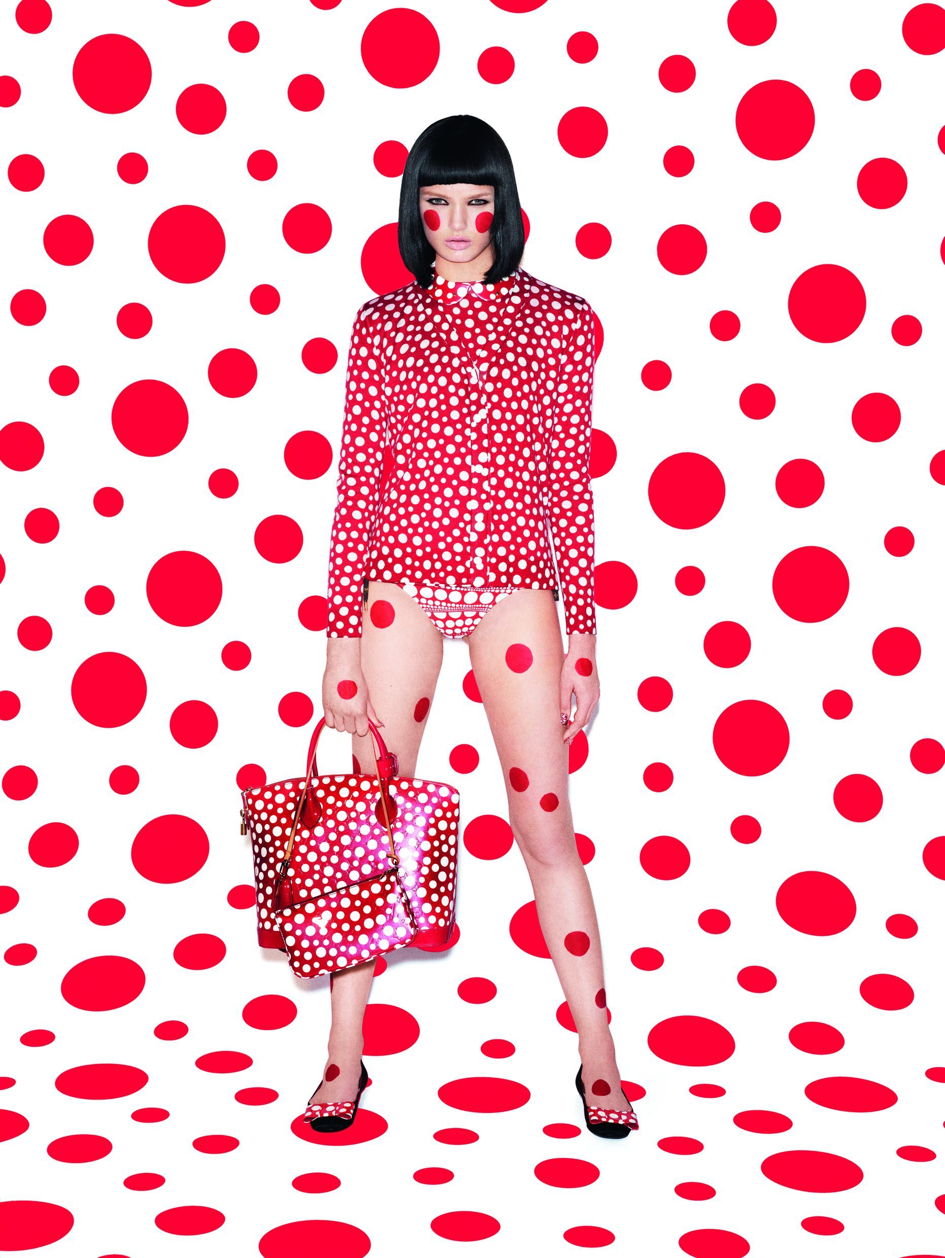Yayoi Kusama for Louis Vuitton Accessories Collection