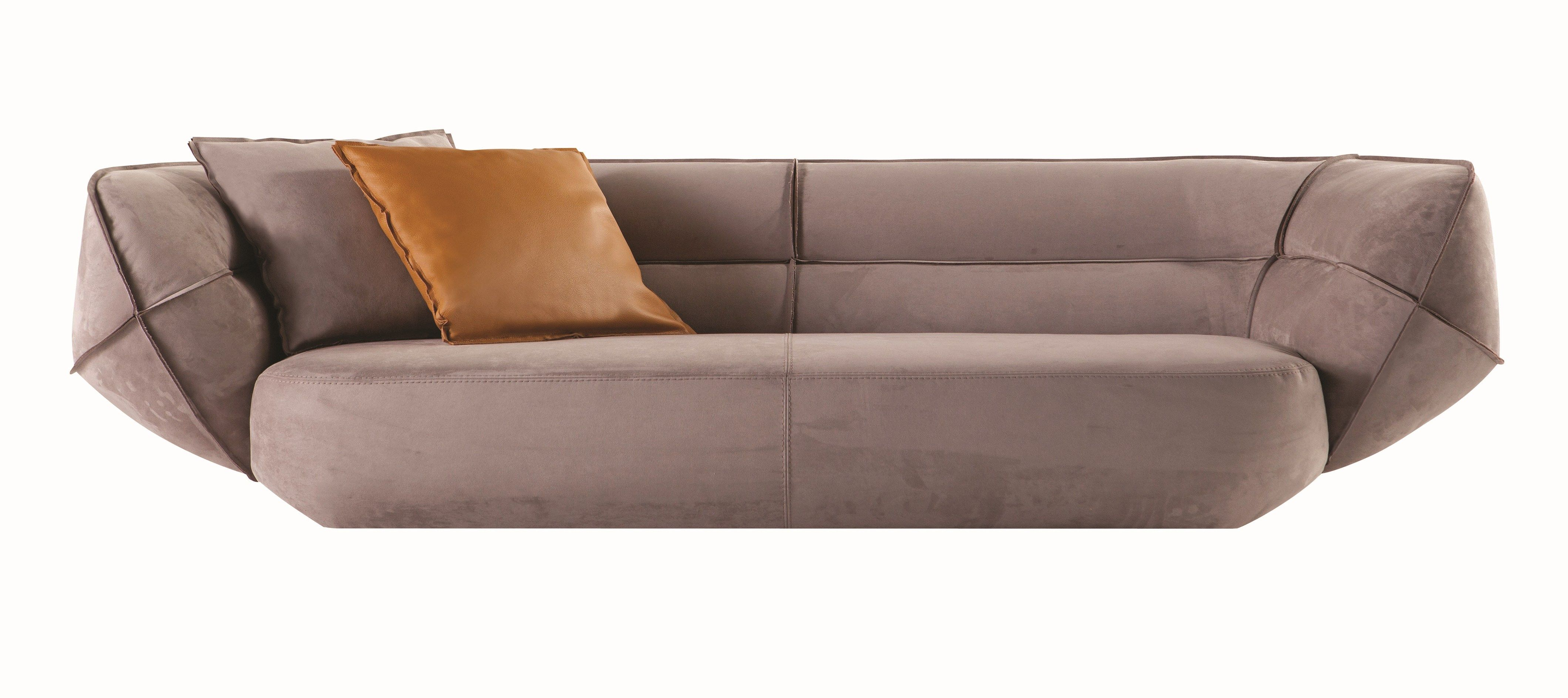 Upholstered Fabric Sofa Ace By Roche Bobois - Design Christophe