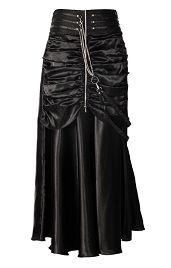 Steampunk Skirt | Black Steampunk Skirt | Steampunk | The Burgandy Boudoir