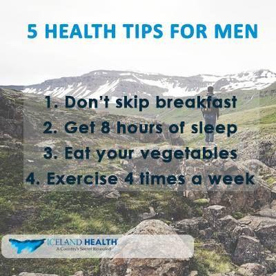 Health tips for Men