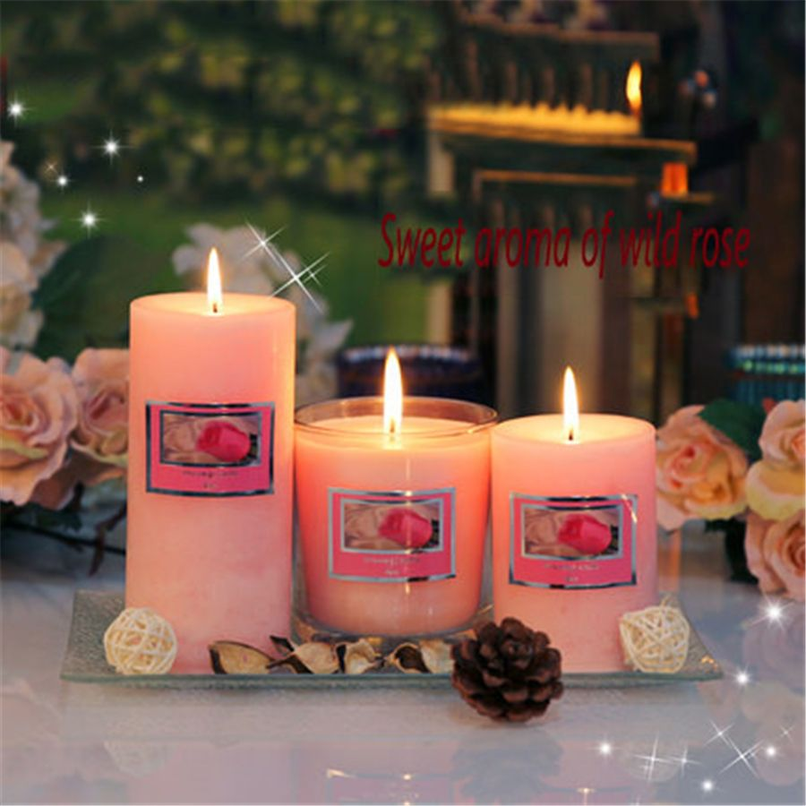 Decorative candles craft aromathorapy candela chauffeplat znicz