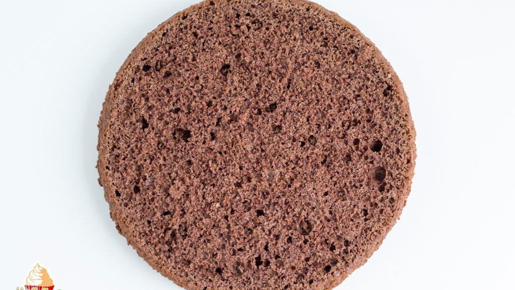 Schokoladenboden für Torte Prag - VanilleTanz #rührteiggrundrezept