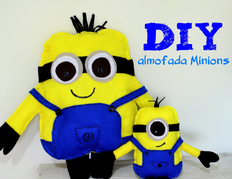 DIY Almofada Minions