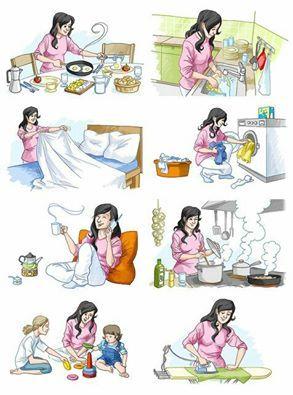 Tips y reflexiones para la vida: ¡¡Mi esposa no trabaja!!!