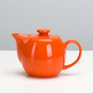 Infuser Teapot 14oz Orange, $13, now featured on Fab.