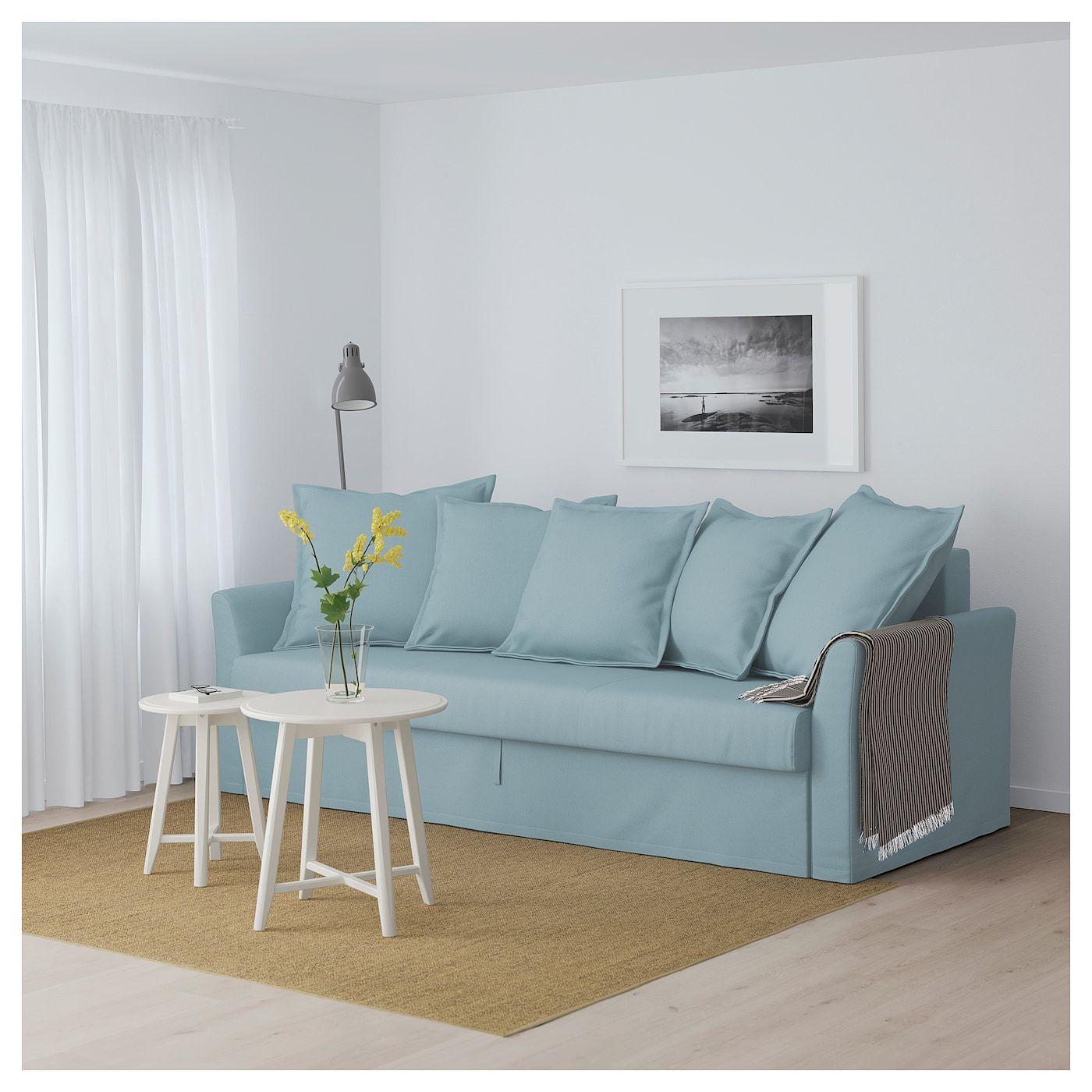 IKEA HOLMSUND Sofabed Orrsta light blue Sofa bed