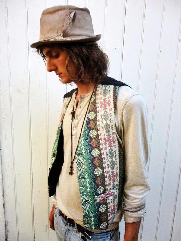 Bohemian Men Style Artist Painter Musician Mysterious Wild