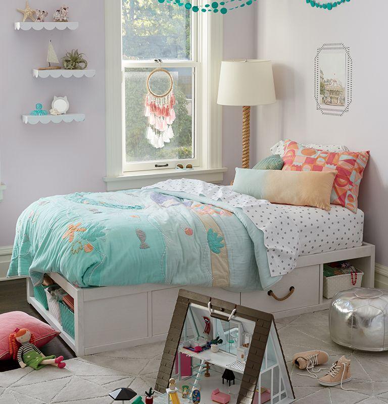 Girls Mermaid Bedroom Idea With our mermaid