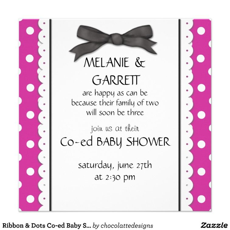 Co Ed Baby Shower Invitations, 64 Co Ed Baby Shower Announcements ...