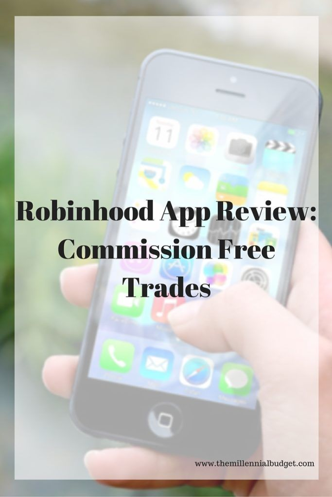 Robinhood is an investing app that allows their users to trade commission free. Check out my review to see if it is right for you. #investing #apps