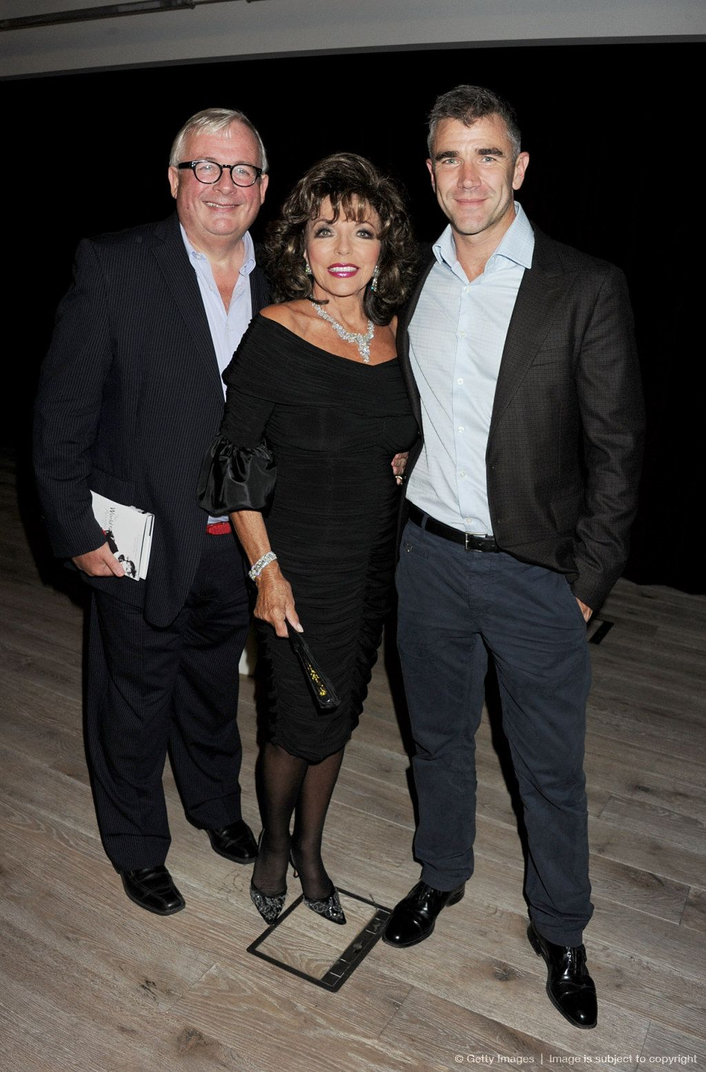 """""""The World According To Joan"""" By Joan Collins - Book Launch Party"""