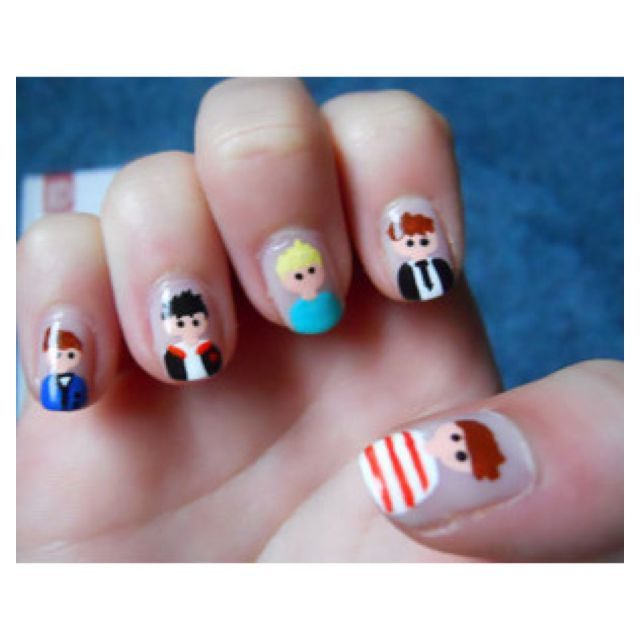 Niall Nails! The Best One Direction Nail Art Teen.com | Nail polish ...