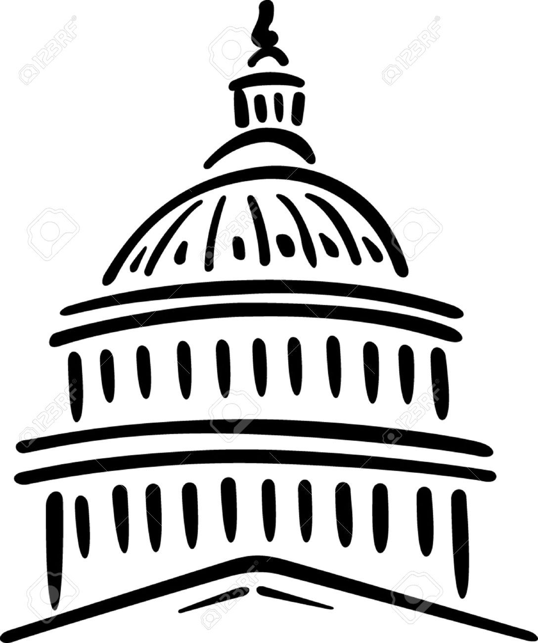 Image Result For Easy Drawing Capitol