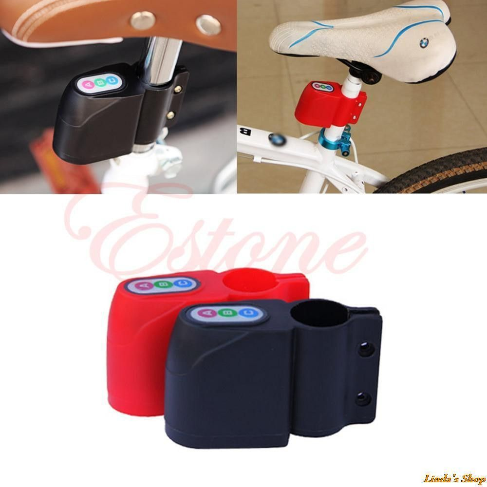 Excellent Security Alarm Security Bicycle Steal Lock Bike