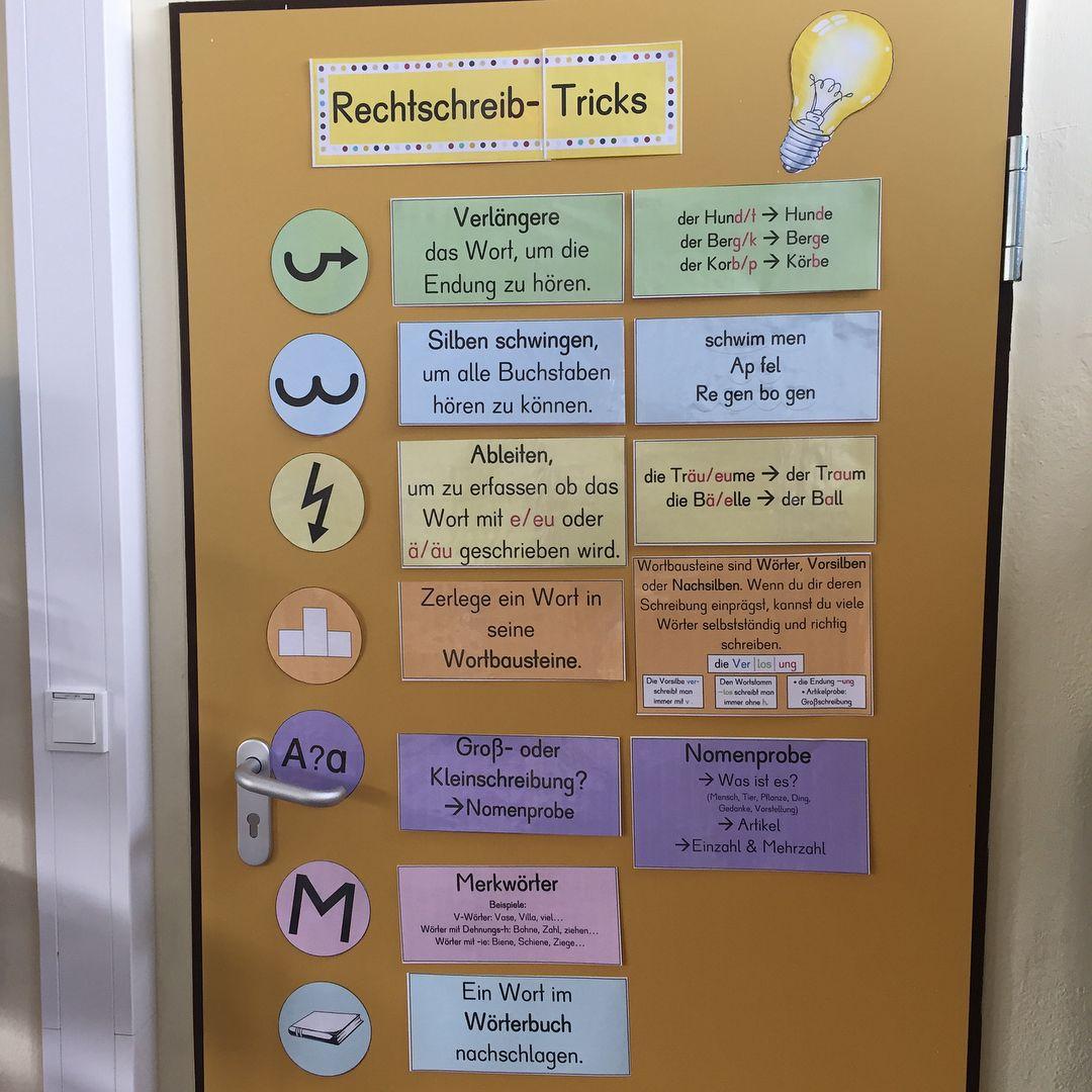 Rechtschreib-Tricks Anschauungsmaterial – Unterrichtsmaterial im Fach Deutsch