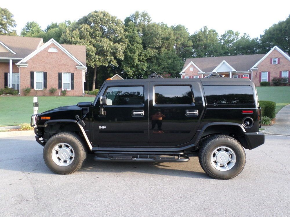 2003 Hummer H2 Lux Pkg And Air Suspension Hummer H2 Hummer Tractor Trailers