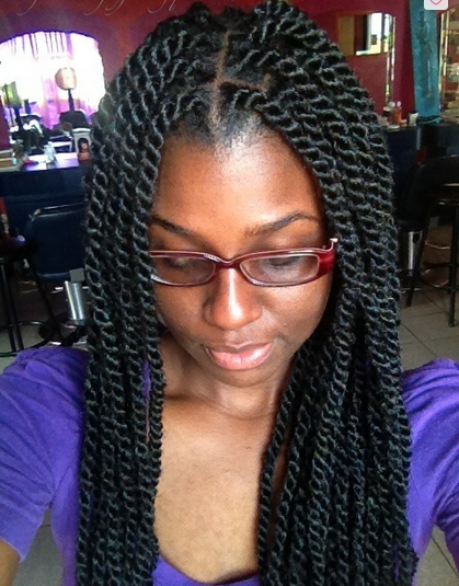 Marley twists for black women | marley-twists-braids ...