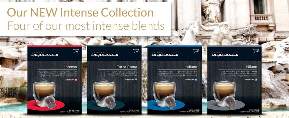 Caffè Impresso Canada Nespresso Compatible Capsules