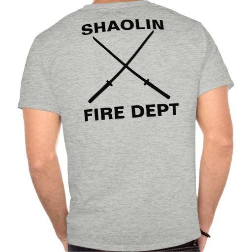 Shaolin Fire Department T Shirt, Hoodie Sweatshirt