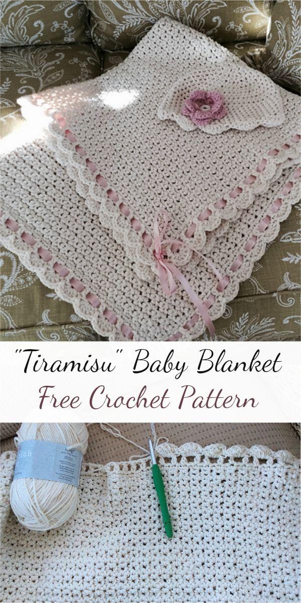 Tiramisu Baby Blanket Free Crochet Pattern Tiramisu Free Crochet