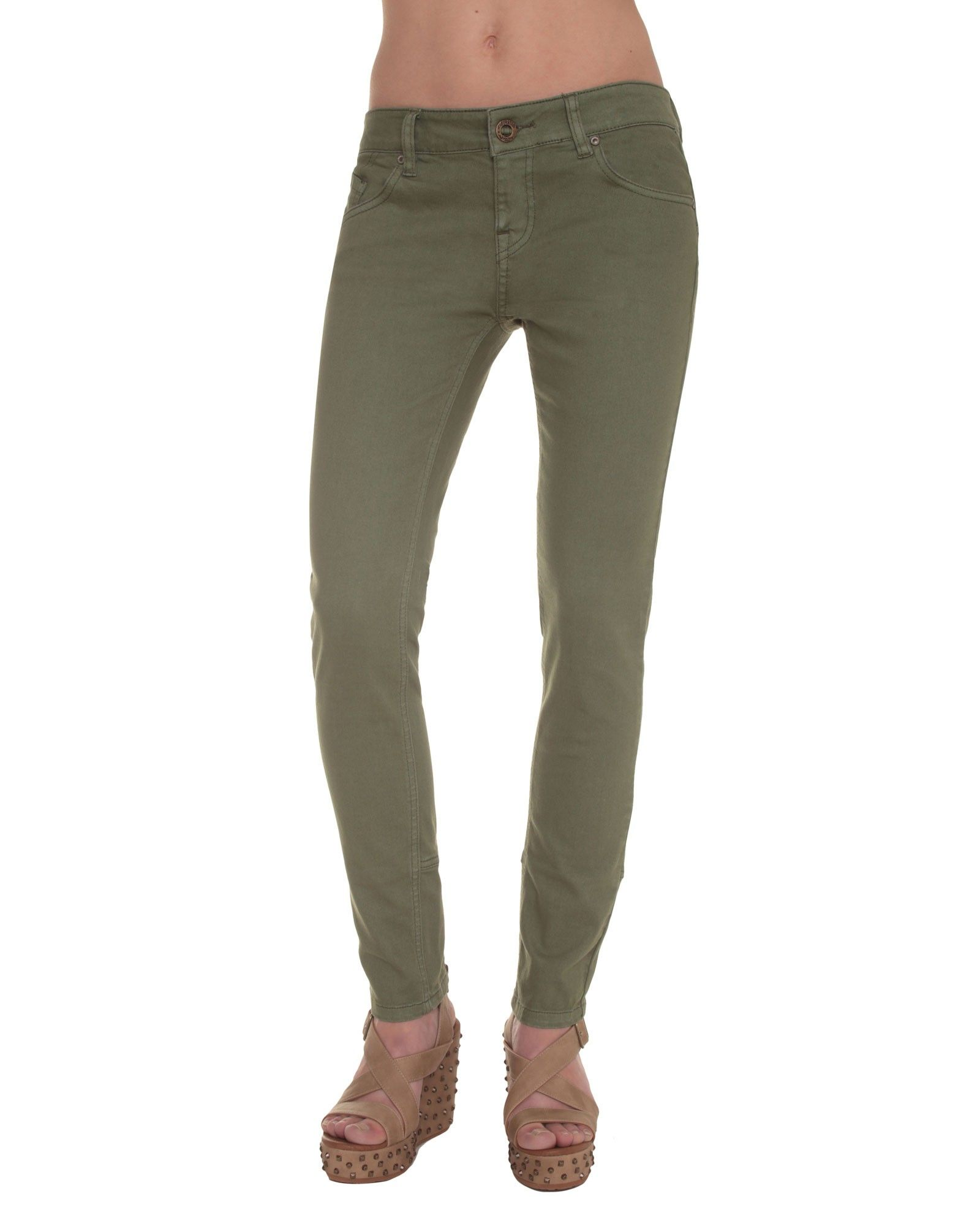 c347da4d55d Oily Skinny Colour Jeans - Slender legs guaranteed in these super skinny  jeans available in three colours. A zip travels up the ankle back hem and  attracts ...
