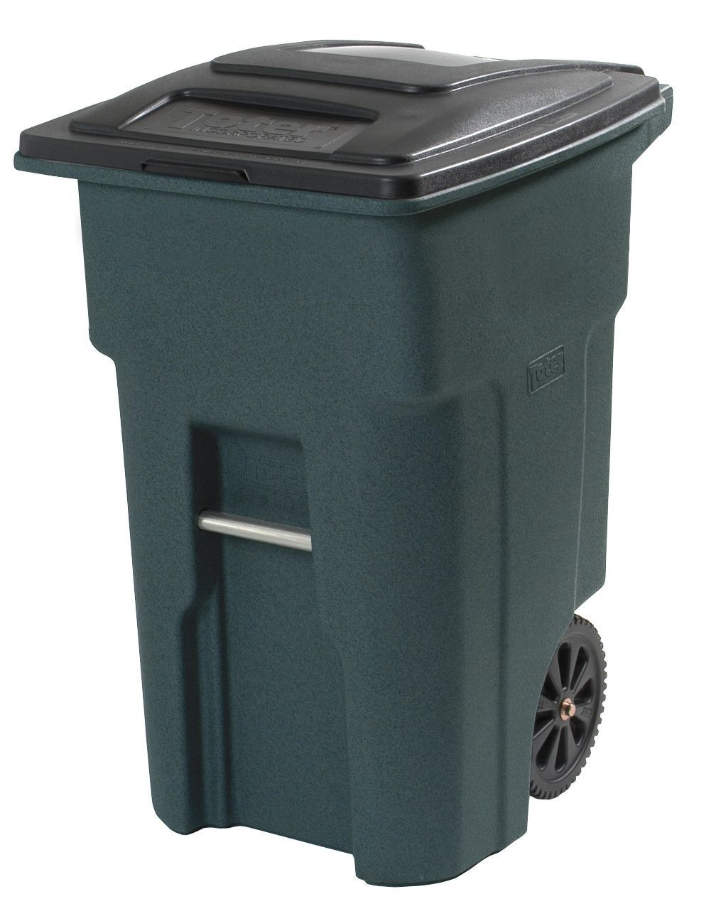 Residential Heavy Duty Two Wheeled Curbside Trash