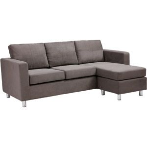 Small Spaces Configurable Sectional Sofa, Multiple Colors 349
