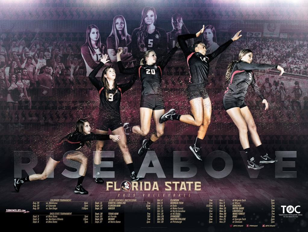 Posterswag Com Top 30 Ncaa Volleyball Schedule Posters Smsports Sportsbiz Volleyball Pictures Volleyball Volleyball Posters