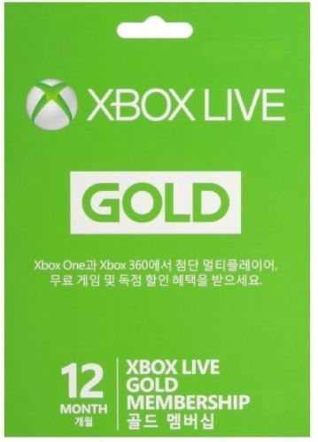 Xbox Live  Month Gold Membership Card For  HttpSylsdeals