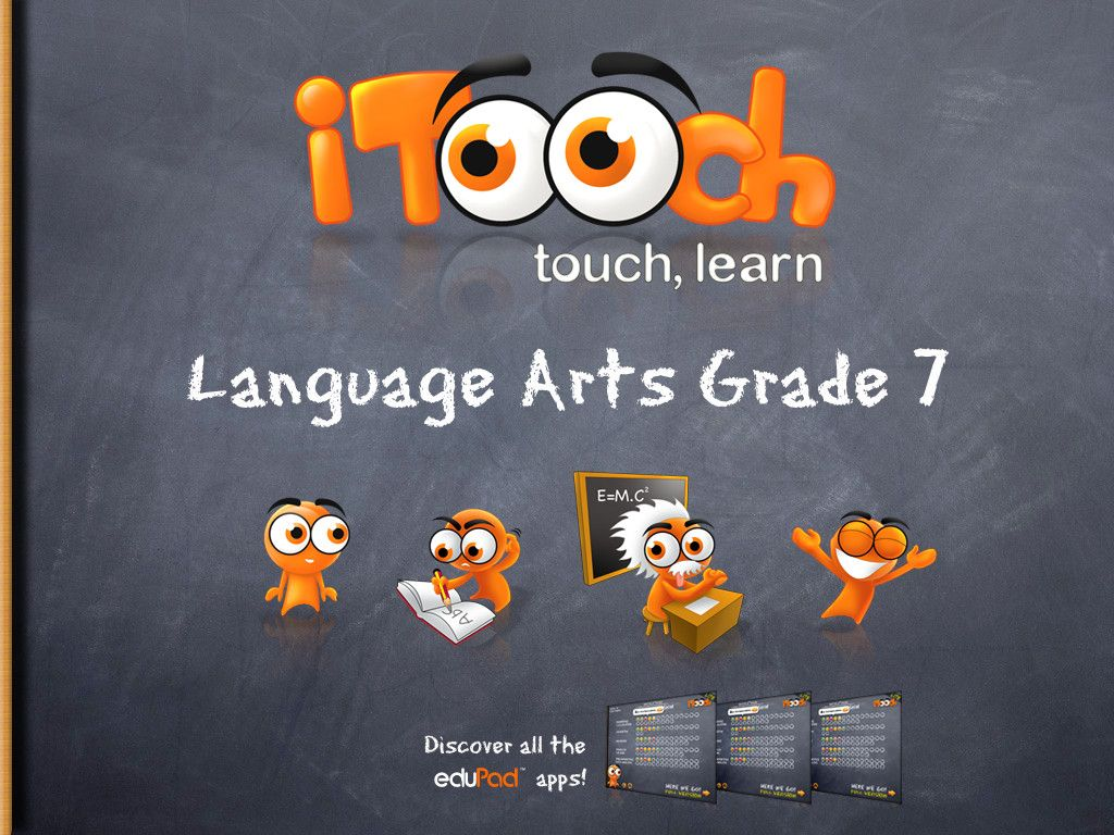 Itooch 7th Grade Language Arts