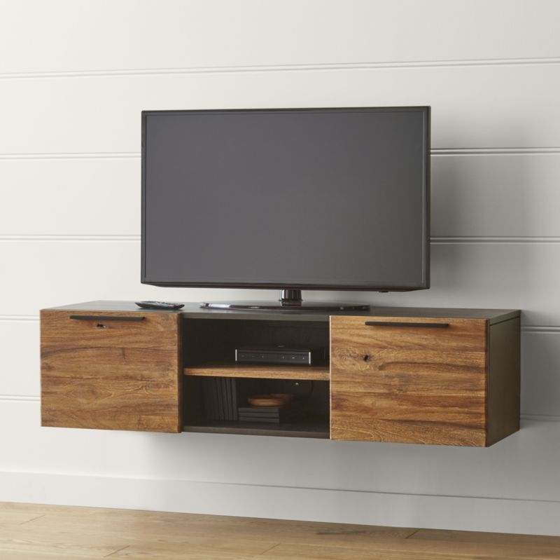 Showcase your tv and store your components in a media