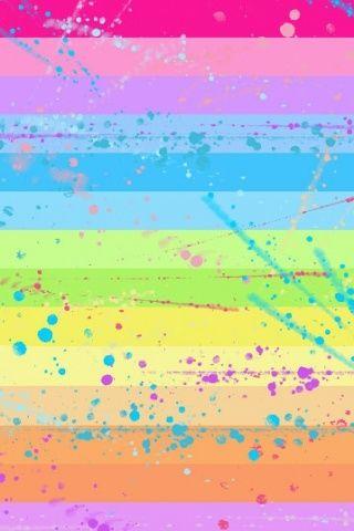Pastel Rainbow IPhone Wallpaper