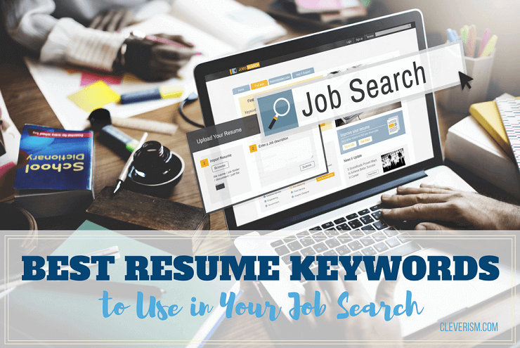 Strong Words To Use In A Resume Best Resume Keywords To Use In Your Job Search  Pinterest