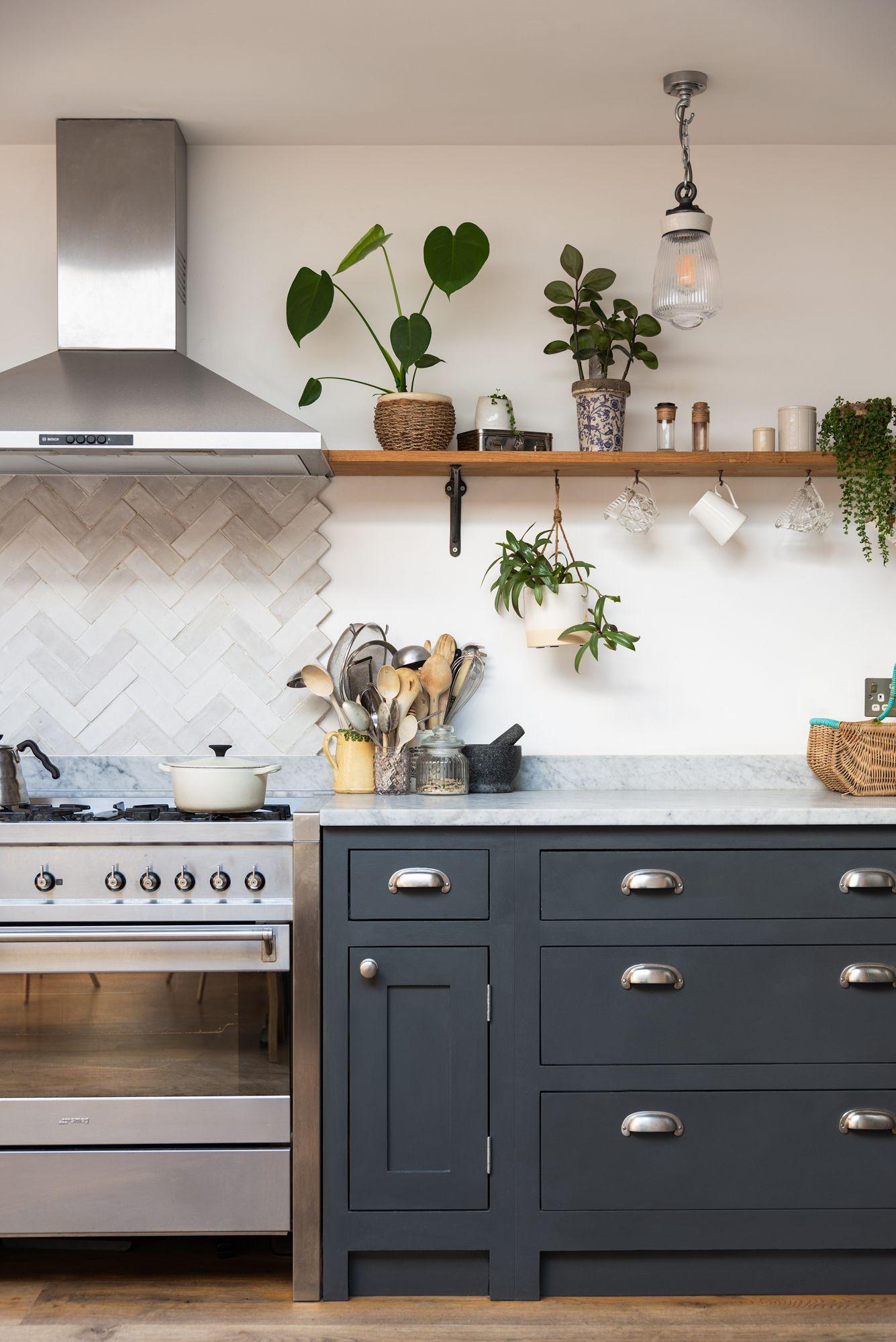 Rustic Shaker Kitchen Grey Shaker Kitchen Shaker Style Kitchens Kitchen Cabinets